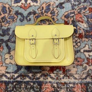 Cambridge Satchel Company Pale Yellow Crossbody